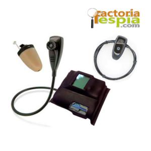 Kit de Cámara HD, Pinganillo Vip y Collar BT .