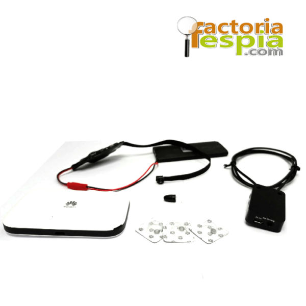 Kit Completo para exámenes compuesto por: Pinganillo y Collar de Inducción alta gama. Cámara de alta resolución y servidor 4G.