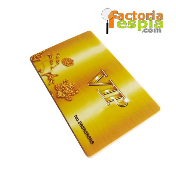 Grabadora de voz Digital, tarjeta VIP con reproductor MP3 a través de auriculares
