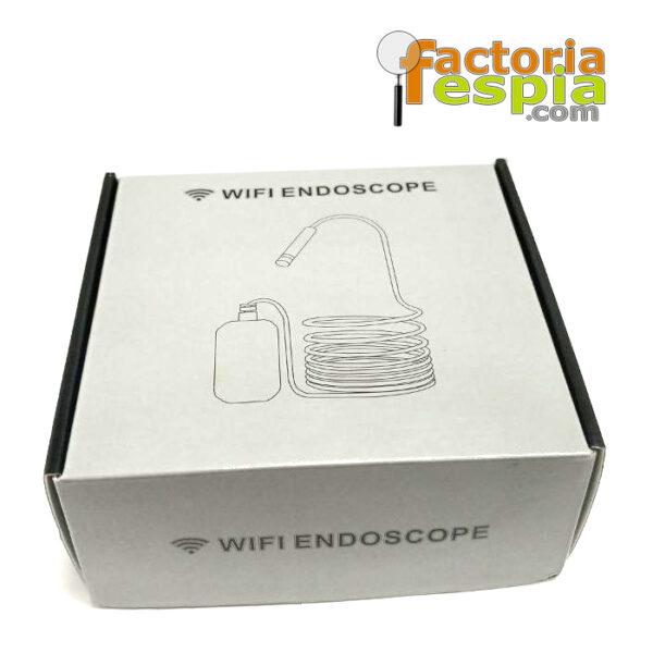 Cámara Endoscópica Espía WiFi . Con cámara Dual.