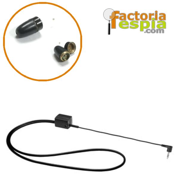 Pitty Black + Collar de Bucle Inductivo para MP3