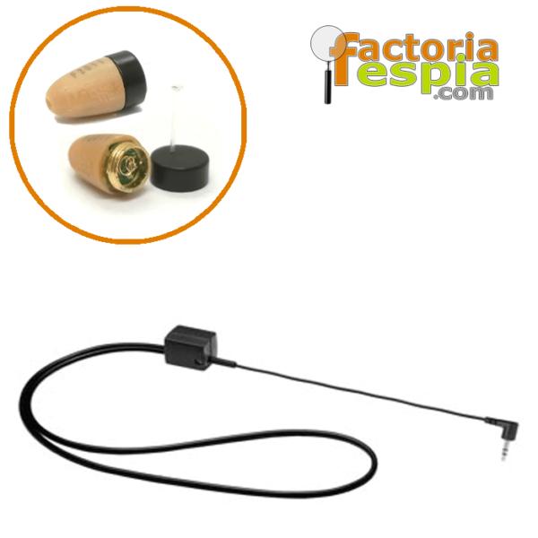Pinganillo Basic + Collar de Bucle Inductivo para MP3