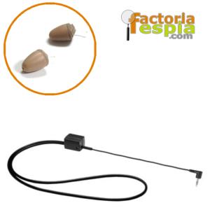 Pinganillo Pitty VIP + Collar de Bucle Inductivo para MP3
