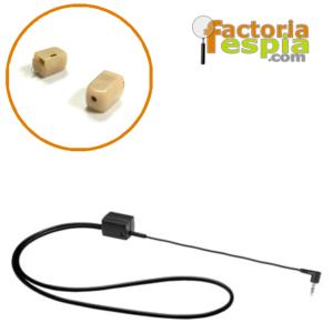 Pinganillo LARS 21 + Collar de Bucle Inductivo para MP3
