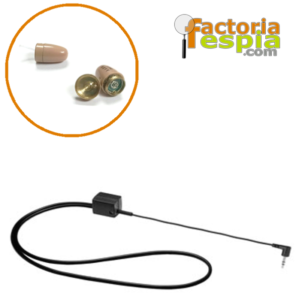 Pitty Clear + Collar de Bucle Inductivo para MP3