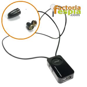 Pinganillo Pitty Black + Collar de Inducción Bluetooth VIP