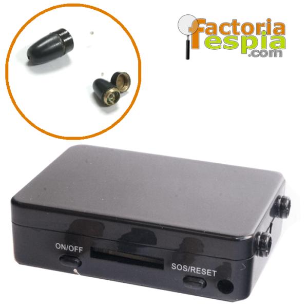 Pinganillo Pitty Black + Caja de Inducción GSM Black