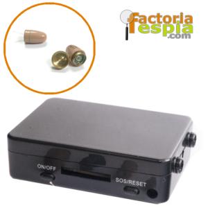 Pinganillo Pitty Clear + Caja de Inducción GSM Black