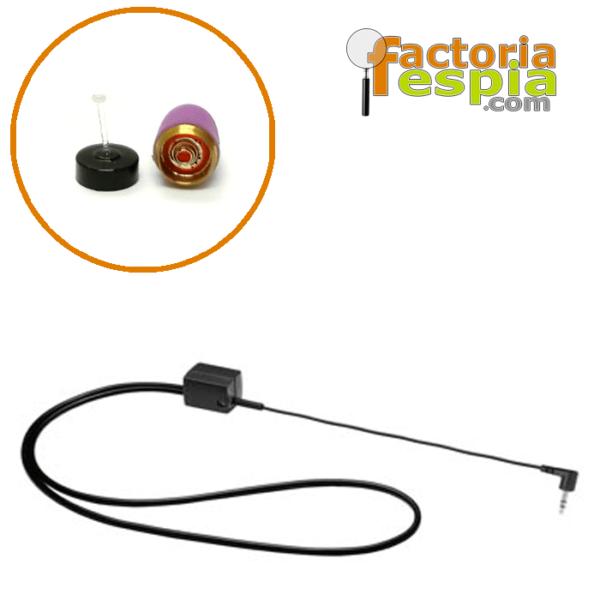 Pinganillo Pitty Pink + Collar de Bucle Inductivo para MP3