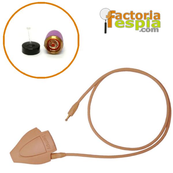 Pinganillo Pitty Pink + Collar de Inducción Bempy Bluetooth PRO