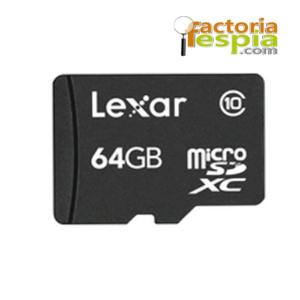 Tarjeta de Memoria Micro SDHC 64Gb