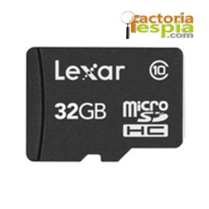 Tarjeta de Memoria Micro SDHC 32Gb