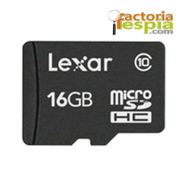 Tarjeta de Memoria Micro SDHC 16Gb