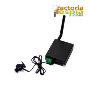 Cámara Espía. Incluye servidor de video habilitado para tener 5 usuarios y 2 receptores de alarma.