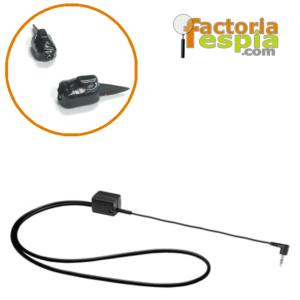 Pinganillo Pitty Shark + Collar de Bucle Inductivo para MP3