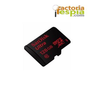 Tarjeta de memoria microSDHC de 128Gb clase 10