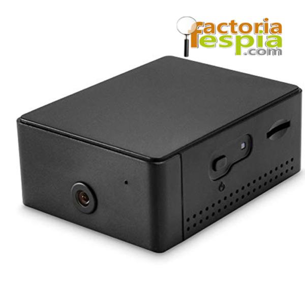 Cámara de seguridad con batería de larga duración con vídeo grabador HD, WiFi. Discreta y de calidad.