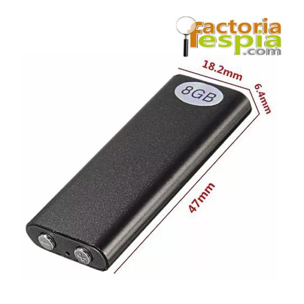 Mini grabadora de voz ultra diminuta Pitty-Recorder