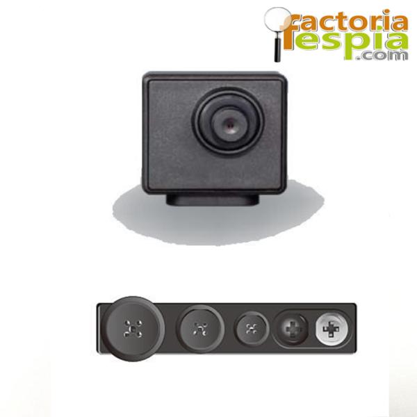 Cámara Espía oculta en botón. Cámara con resolución Full HD 1080 p, lente de 78º . Lawmate